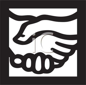 shaking hands clipart. Royalty Free Hands Clipart
