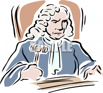 Royalty Free Judge Clip art, People Clipart