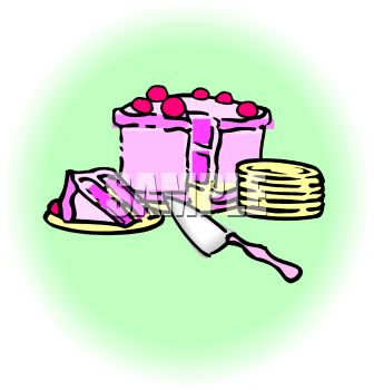 Cake Knife Clipart : Royalty Free Knife Clip art, Food Clipart