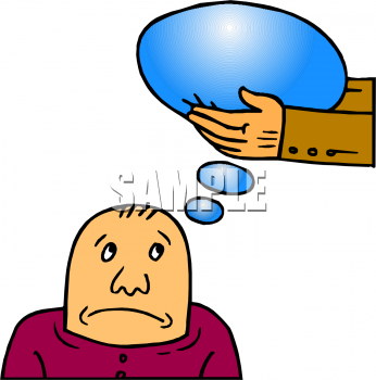 clip art man thinking. People Clipart