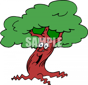 royalty free tree clip art  grass and tree clipart WMF Files PowerPoint Clip Art