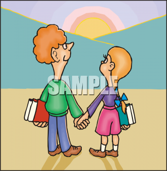 people holding hands clip art. People Clipart