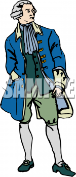 Royalty Free Colonial Clip Art People Clipart