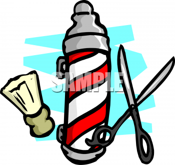 Royalty Free Barber Clip Art Business Clipart