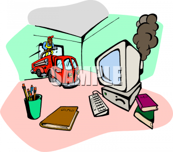 Royalty Free Computer Clip art, Business Clipart