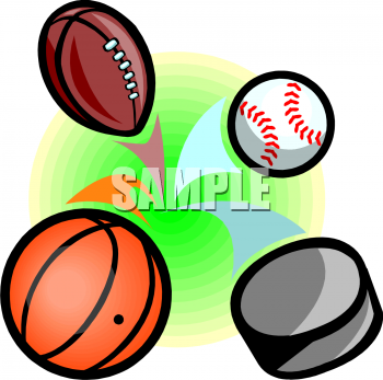 Royalty Free Football Clipart