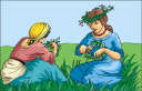 Grass and Tree Clipart