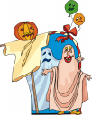 Halloween holiday holidays ghost ghosts funny pumpkin pumpkins costume