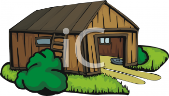 Royalty Free Shed Clipart