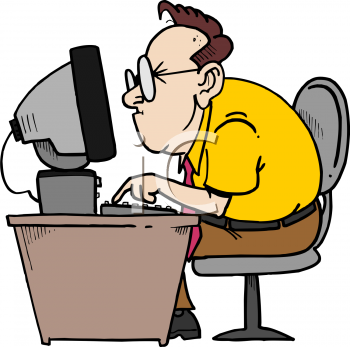 Royalty Free Computer Clip Art Business Clipart