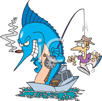 cartoon fishing pole. free clipart fishing pole.