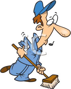 Royalty Free Janitor Clip Art Occupations Clipart