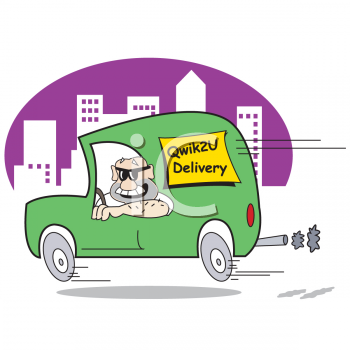 delivery driver clip art - photo #7