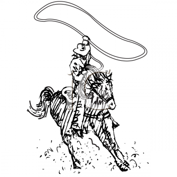 Royalty Free Cowboy Clip Art People Clipart