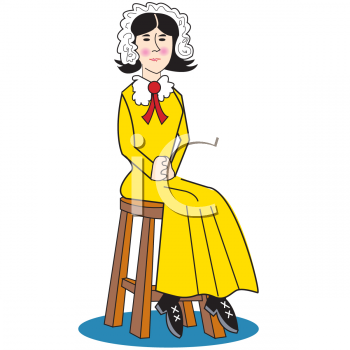 Royalty Free Colonial Clip art, People Clipart