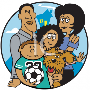 Royalty Free Family Clipart