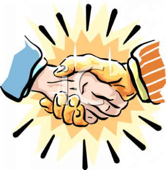 Home > Clipart > Business > Handshake  120 of 121