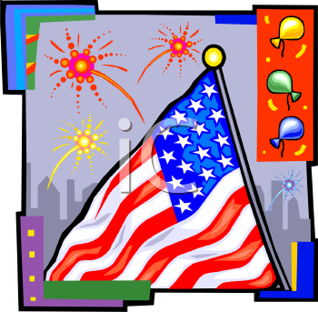 flag day clip art free. United States Clipart