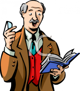Royalty Free Narrator Clip art, Occupations Clipart