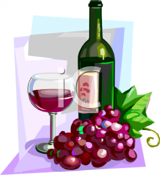 Royalty Free Wine Clip Art Food Clipart