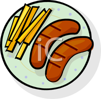 Royalty Free Hotdog Clip art, Food Clipart