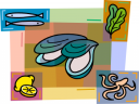 Fish and Sea Life Clipart