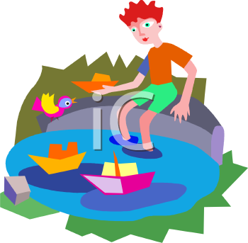 Kids Swimming Clipart. People Clipart