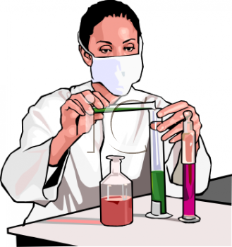 Medical Laboratory Technician Clipart