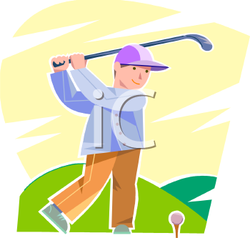 Royalty Free Golf Clipart, item #203244 - Sport Clip art