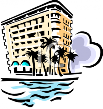 Royalty Free Hotel Clip Art Buildings Clipart