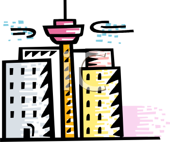Buildings Clipart
