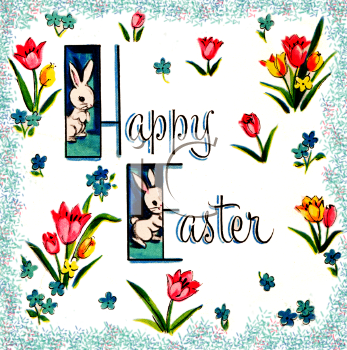 easter bunny clipart free. Royalty Free Easter Clipart