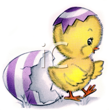 clip art easter chicken. Easter Clipart
