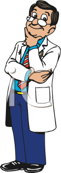 Royalty Free Doctor Clip art, Occupations Clipart