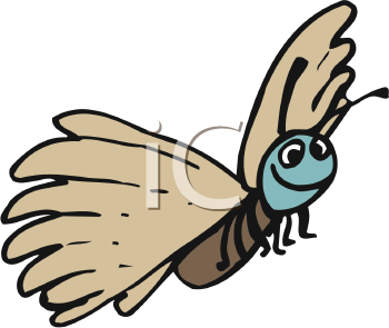 Royalty Free Moth Clip art, Insect Clipart