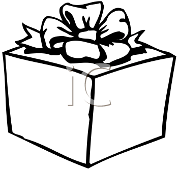 Gift Box Clipart Black And White | New Calendar Template Site