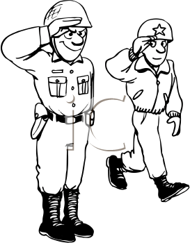 Royalty Free Military Clipart