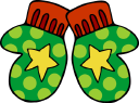 Mittens Clipart - Royalty Free Objects Clip art