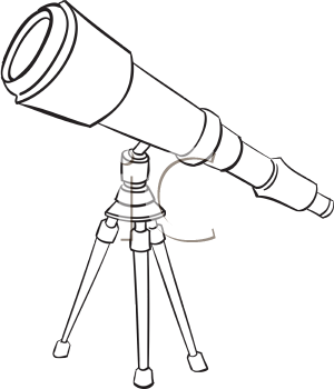 astronomy clipart black and white - photo #11