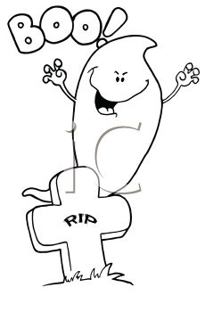 1124524 Royalty Free Tombstone Clipart Illustration as well Rip 10069 in addition Y2VtZXRlcmllcyBkcmF3aW5n in addition Ghoul 305300 moreover Music In The Air. on scary cartoon headstones