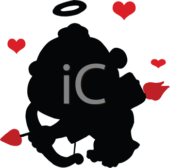 clipart heart with arrow. Valentines Day Clipart