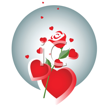 clipart hearts and roses. Nature and Scenic Clipart