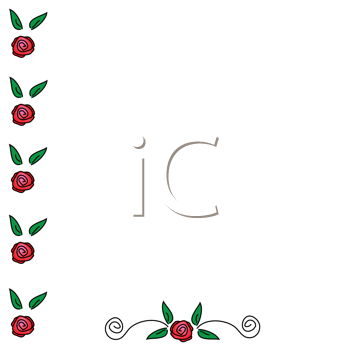 rose border clipart. Background Clipart