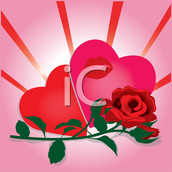 clipart hearts and roses. Valentines Day Clipart