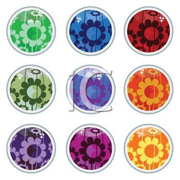 flower designs for glass painting. Flower Clipart