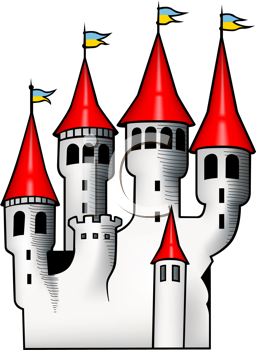 Royalty Free Architecture Cartoon Clip Art Architecture