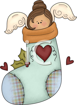 Royalty Free Christmas Stocking Clip art, Christmas Clipart
