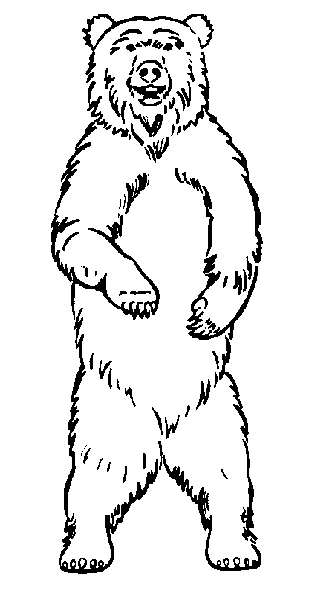 Free Bear Attack Clipart