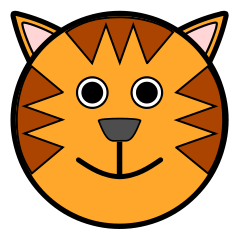 Free Cartoon Tiger Clipart