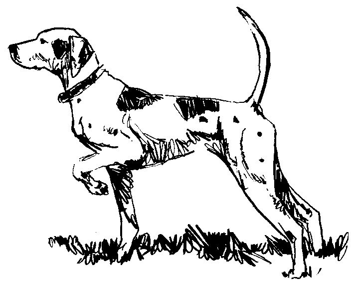 Free Dog Coloring Page Clipart 4 pages of Public Domain Clip Art